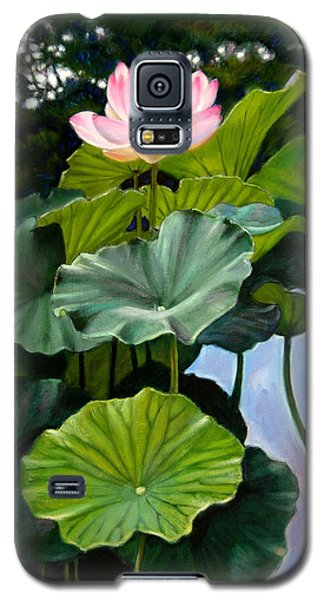 Lotus Rising Galaxy S5 Case by John Lautermilch