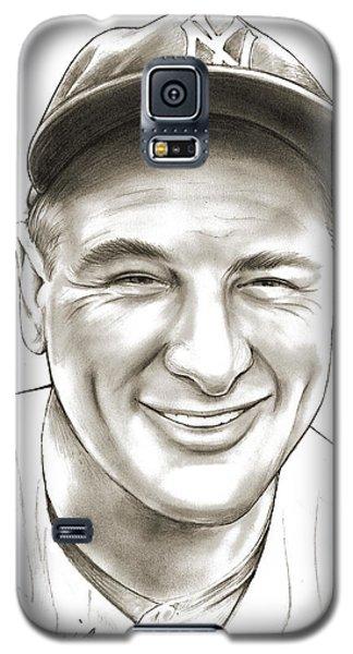 Lou Gehrig Galaxy S5 Case