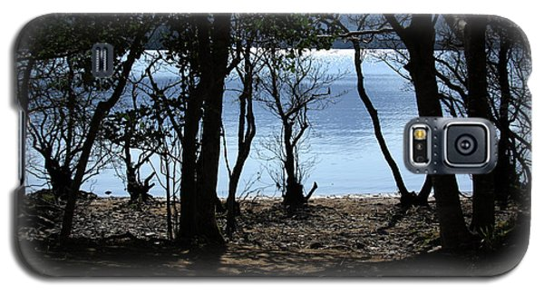 Galaxy S5 Case featuring the photograph Lough Leane Through The Woods by Aidan Moran