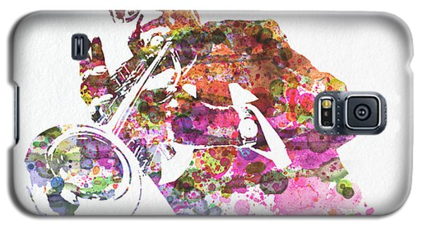 Louis Armstrong 2 Galaxy S5 Case by Naxart Studio