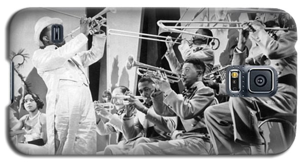 Trombone Galaxy S5 Case - Louis Armstrong by American School