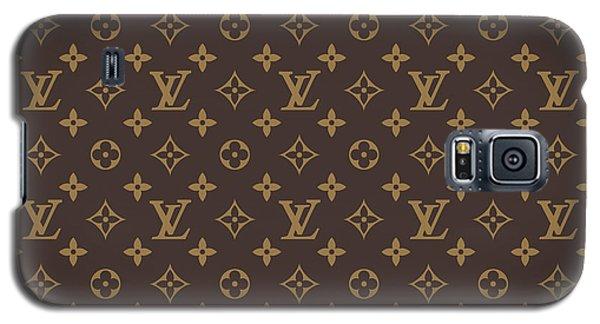 Louis Vuitton Texture Galaxy S5 Case
