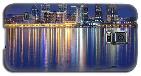 Louisville During Blue Hour Galaxy S5 Case by Frozen in Time Fine Art Photography