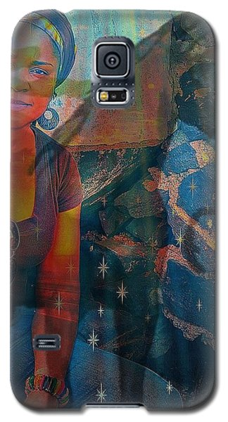 Loulou And Me Galaxy S5 Case by Fania Simon