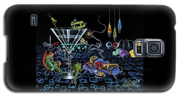 Lounge Lizard Galaxy S5 Case by Michael Godard