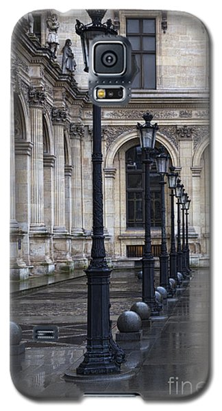 Galaxy S5 Case featuring the photograph Louvre, Paris by Elena Nosyreva