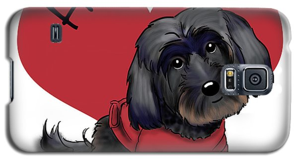 Lovable Black Havanese Galaxy S5 Case