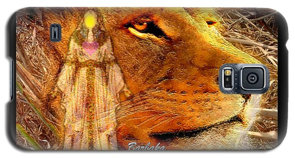 Galaxy S5 Case featuring the digital art Love 444 Cecil by Barbara Tristan
