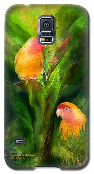 Love Among The Bananas Galaxy S5 Case by Carol Cavalaris