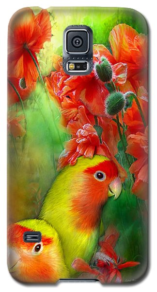 Love Among The Poppies Galaxy S5 Case