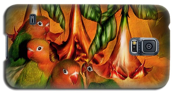 Love Among The Trumpets Galaxy S5 Case by Carol Cavalaris