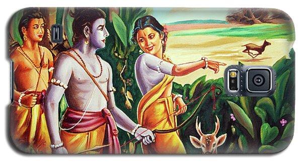 Love And Valour- Ramayana- The Divine Saga Galaxy S5 Case