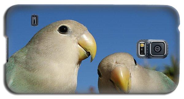 Lovebird Galaxy S5 Case - Love Birds 2 by Ernie Echols