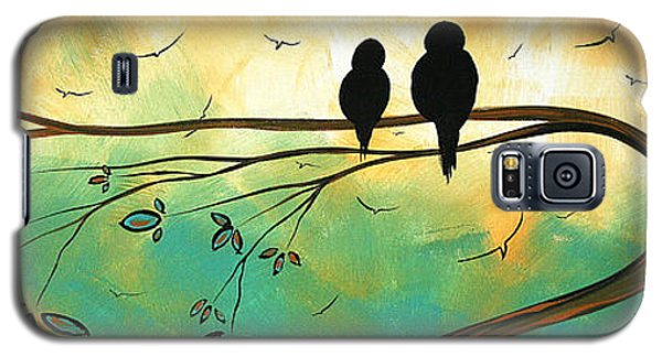 Love Birds By Madart Galaxy S5 Case