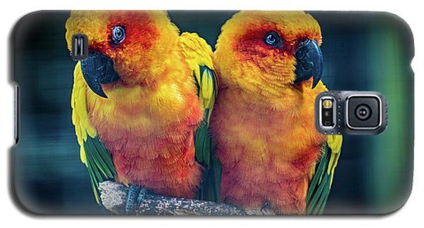 Galaxy S5 Case featuring the photograph Love Birds by Chris Lord