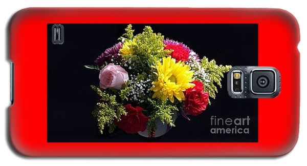 Love Bouquet Galaxy S5 Case by Becky Lupe