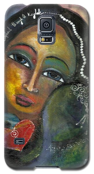 Love Can Draw An Elephant Through A Key Hole Galaxy S5 Case