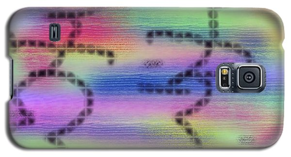Galaxy S5 Case featuring the digital art Love Colors by Alec Drake