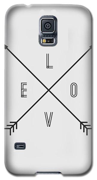 Love Compass Galaxy S5 Case by Taylan Apukovska