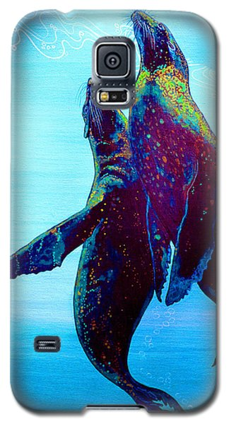 Galaxy S5 Case featuring the painting Pure Love by Debbie Chamberlin