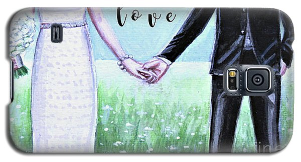 Love Galaxy S5 Case by Elizabeth Robinette Tyndall