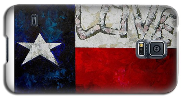 Love For Texas Galaxy S5 Case