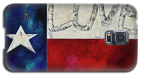 Love For Texas Two Galaxy S5 Case by Patti Schermerhorn
