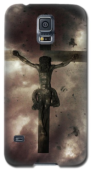 Galaxy S5 Case featuring the painting Love by Gray  Artus