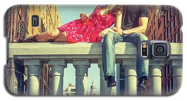 Love In Big City Galaxy S5 Case