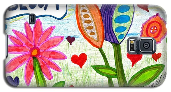 Love In Bloom Galaxy S5 Case