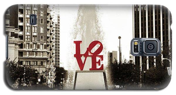 Love In Philadelphia Galaxy S5 Case by Bill Cannon