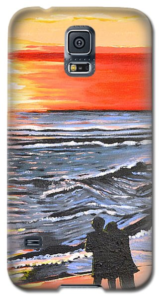 Love Is In The Air Galaxy S5 Case by Donna Blossom