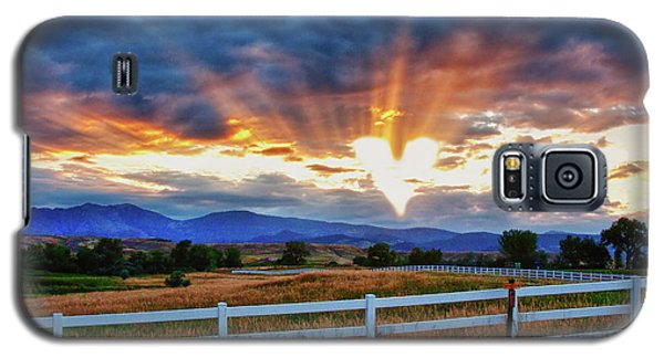 Galaxy S5 Case featuring the photograph Love Is In The Air by James BO Insogna