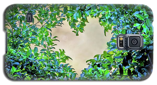 Featured Images Galaxy S5 Case - Love Leaves by Az Jackson