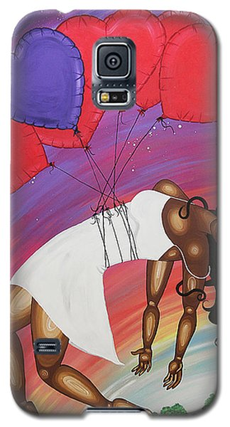 Love Lifts Us Up Galaxy S5 Case