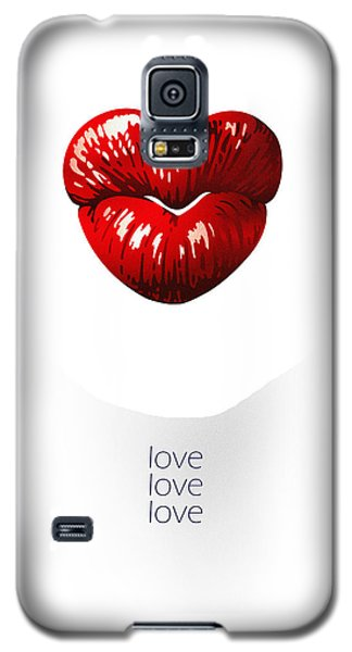 Love Poster Galaxy S5 Case