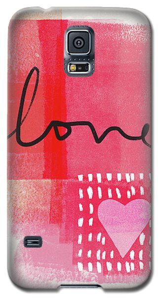 Card Galaxy S5 Case - Love Notes- Art By Linda Woods by Linda Woods