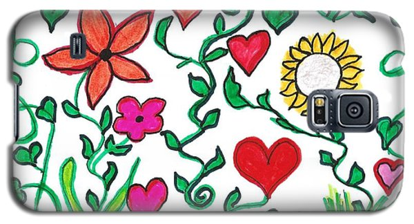 Love On The Vine Galaxy S5 Case