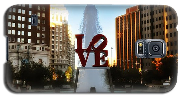 Love Park - Love Conquers All Galaxy S5 Case