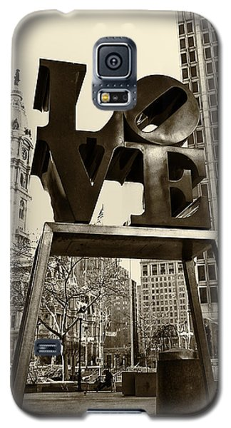 Love Philadelphia Galaxy S5 Case by Jack Paolini