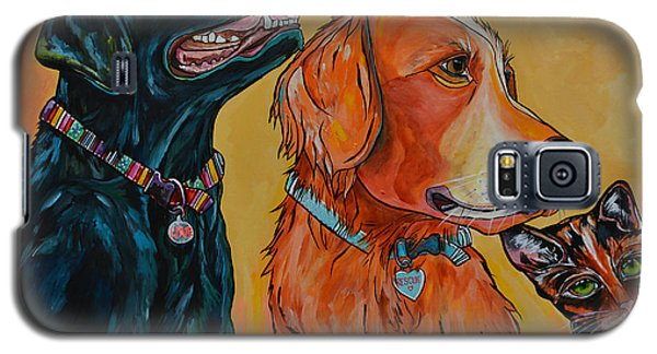 Love Rescue Spay Galaxy S5 Case by Patti Schermerhorn