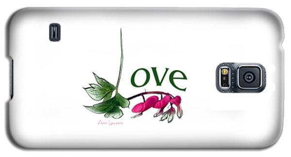 Love Shirt Galaxy S5 Case by Ann Lauwers