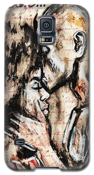 Color Galaxy S5 Case - Love Story by Artist RiA