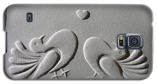 Galaxy S5 Case featuring the relief Love by Suhas Tavkar
