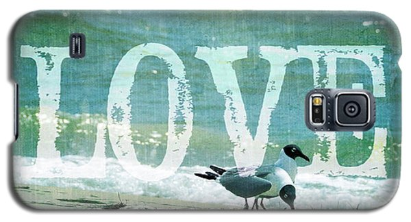 Galaxy S5 Case featuring the photograph Love The Beach by Jan Amiss Photography