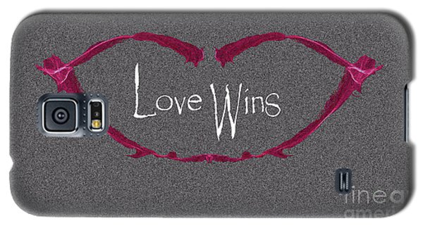 Love Wins Galaxy S5 Case