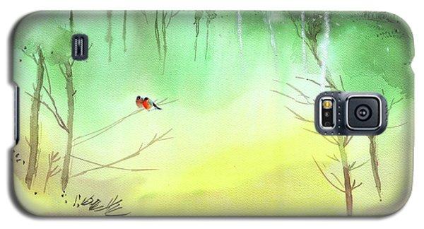 Lovebirds 3 Galaxy S5 Case
