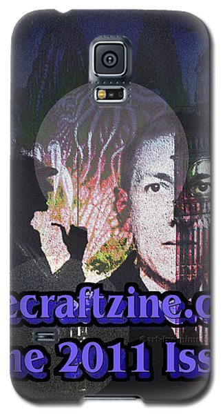 Lovecraftzine Coverpage June Galaxy S5 Case