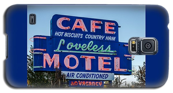Loveless Cafe And Motel Sign Galaxy S5 Case
