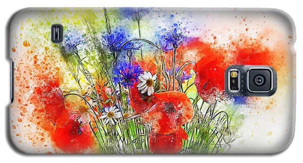 Watercolour Bouquet Galaxy S5 Case
